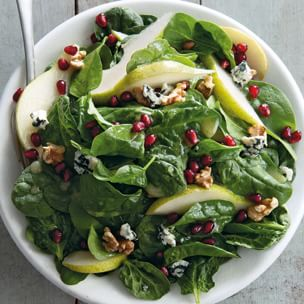 Spinach, Pear and Pomegranate Salad Williams-Sonoma