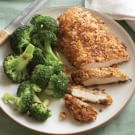 Chicken with Mustard and Walnut Coating