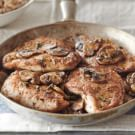 Turkey Cutlets with Mushrooms and Marsala