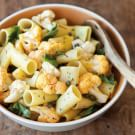 Rigatoni Salad with Cauliflower and Saffron