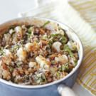 Cauliflower, Onion and Greens Risotto