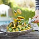Grilled Summer Squash with Fresh Herbs