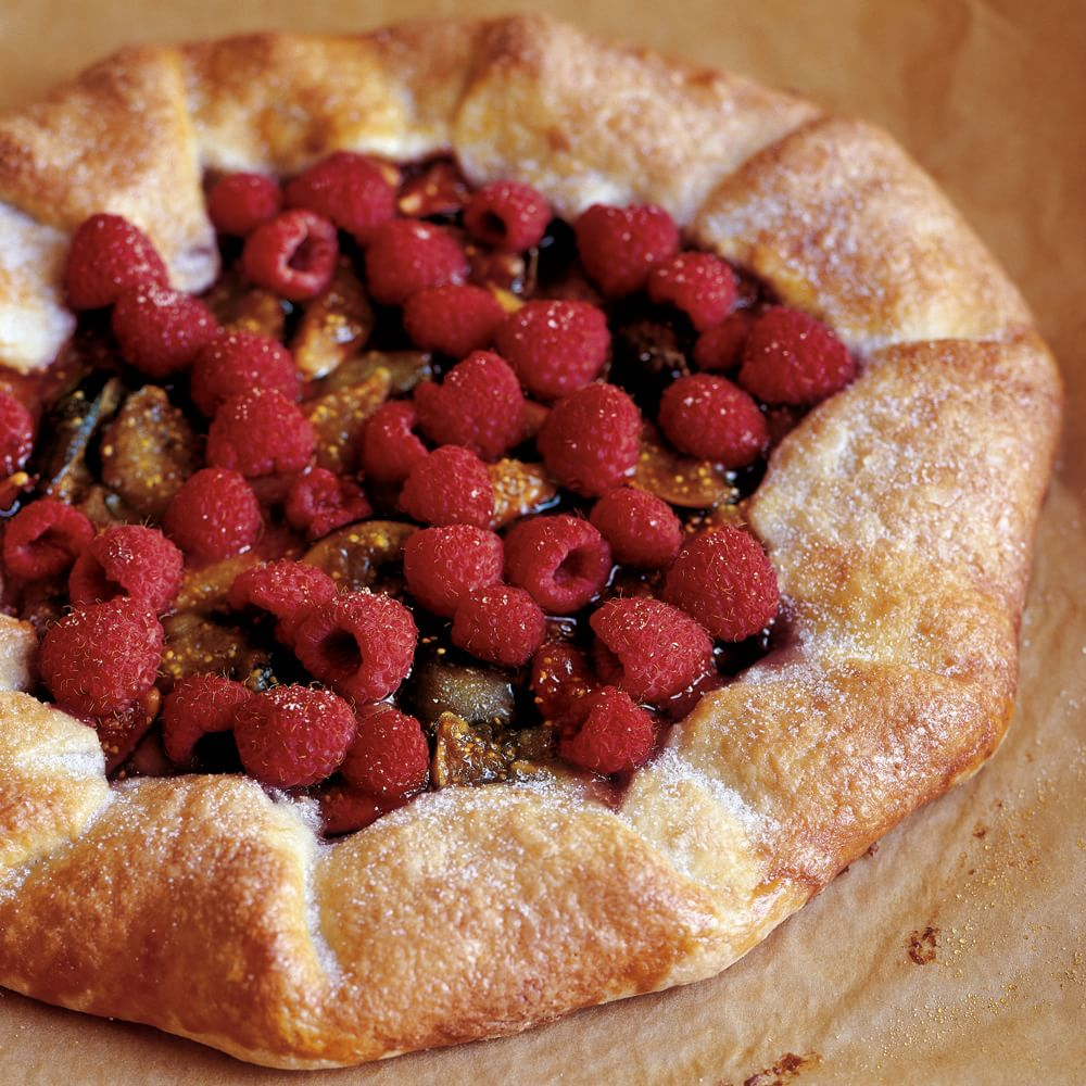 Fig and Raspberry Galette | Williams-Sonoma