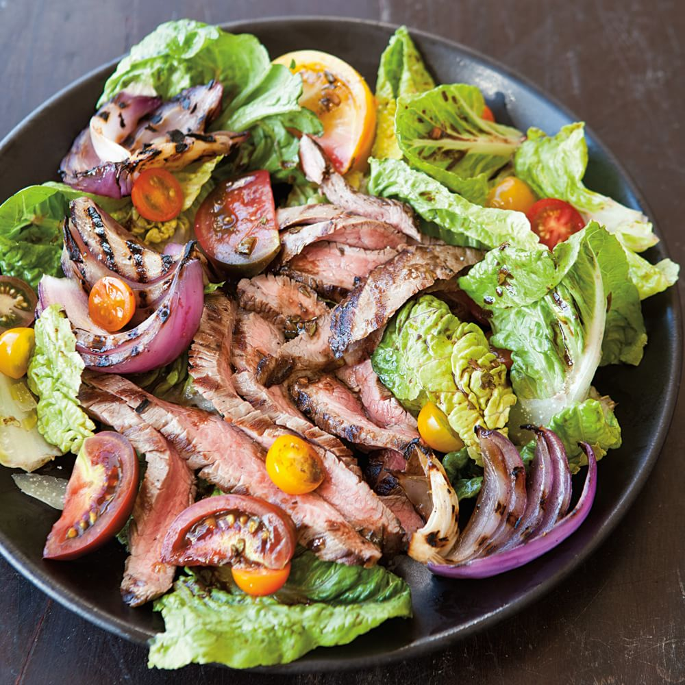 Grilled Flank Steak Salad with Tomatoes | Williams-Sonoma