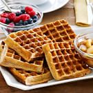Whole Wheat Waffles with Sautéed Pears