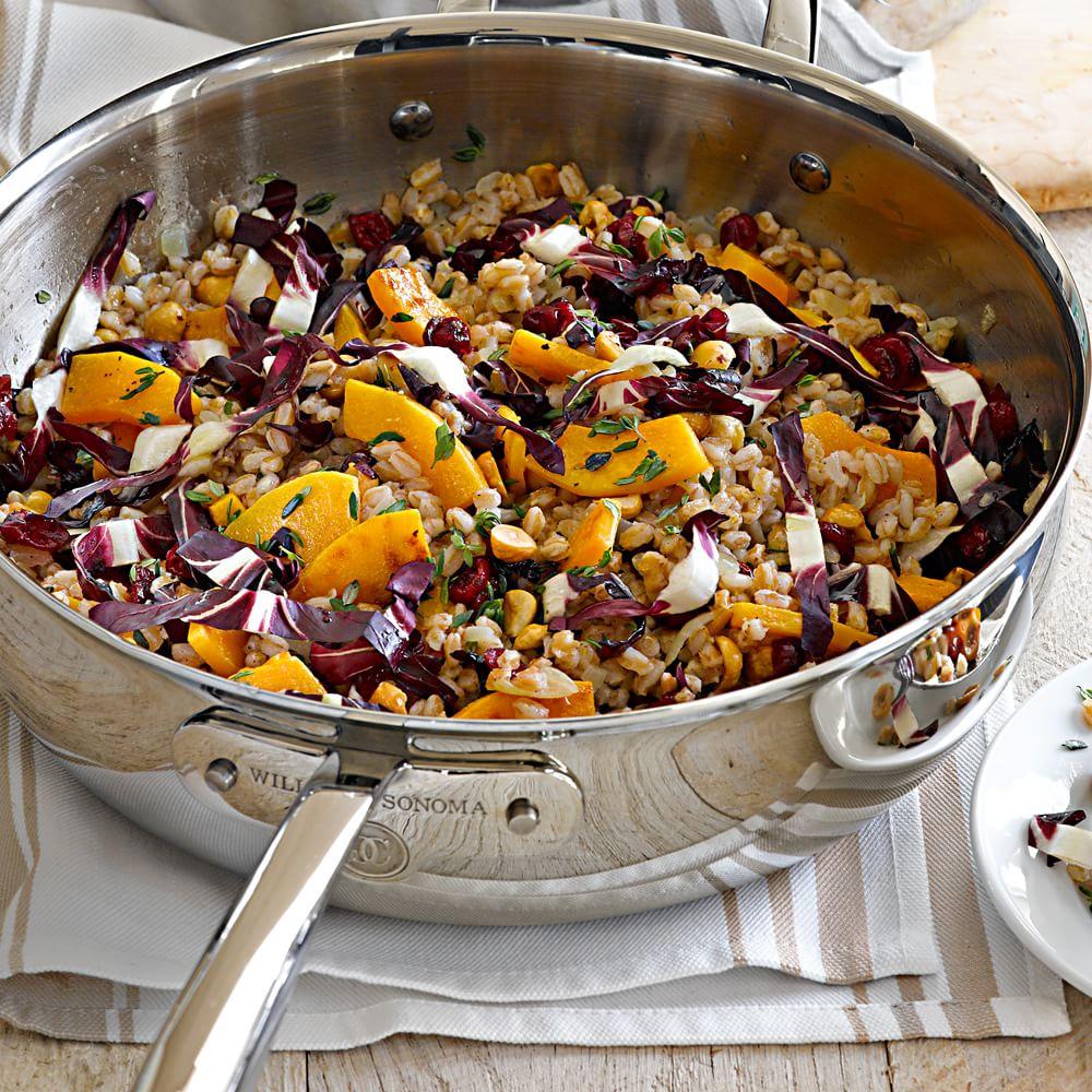 Warm Farro Salad with Butternut Squash and Hazelnuts Williams-Sonoma