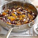 Warm Farro Salad with Butternut Squash and Hazelnuts