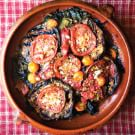 Damaged Goods Gratin of Tomatoes, Eggplant and Chard