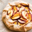 Rustic Nectarine and Almond Galette