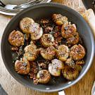 Garlic-Thyme Smashed Potatoes