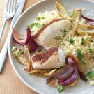 Spiced Roasted Halibut with Fennel and Onion