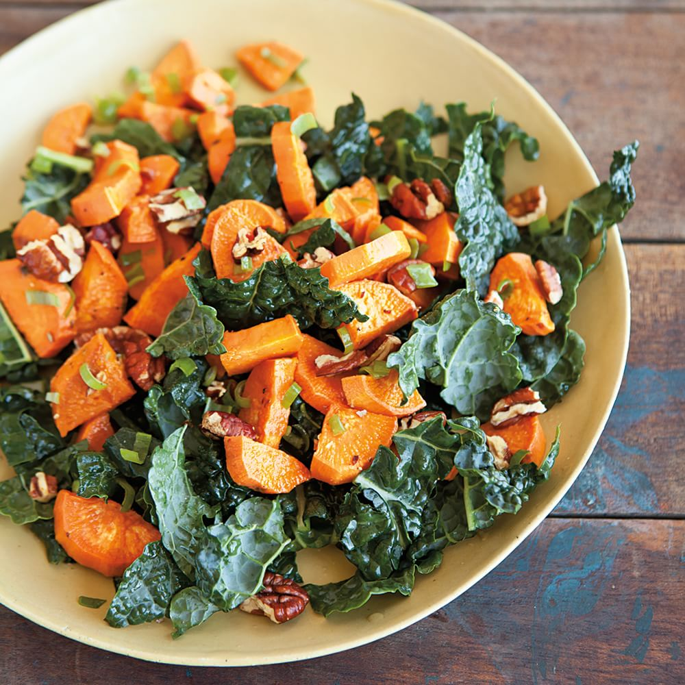 Roasted Sweet Potato Salad with Pecans and Green Onions ...