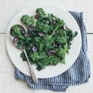 Braised Broccoli Rabe and Olives