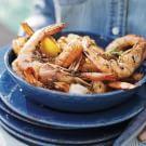 Grilled Salt and Pepper Shrimp