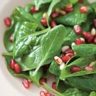 Spinach and Pomegranate Salad (Ispanak Nar Salatasi)