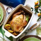 Simple Roast Chicken with Lemons