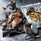 Potlatch Cedar-Planked Salmon with Smoked Potatoes