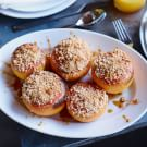 Oven-Roasted Grapefruit with Hazelnuts and Sea Salt