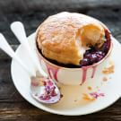 Sour Cherry Pot Pies