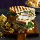 Chicken Panini with Artichoke Parmesan Spread