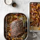 Herb-Crusted Prime Rib with Horseradish Cream