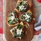 Bruschettas with Sautéed Chard