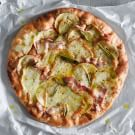 Apple, Bacon and Sage Pizza