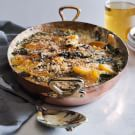 Kale and Butternut Squash Gratin