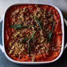 Sweet Potato Casserole with Streusel Topping