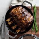 Balsamic-Glazed Rib Roast