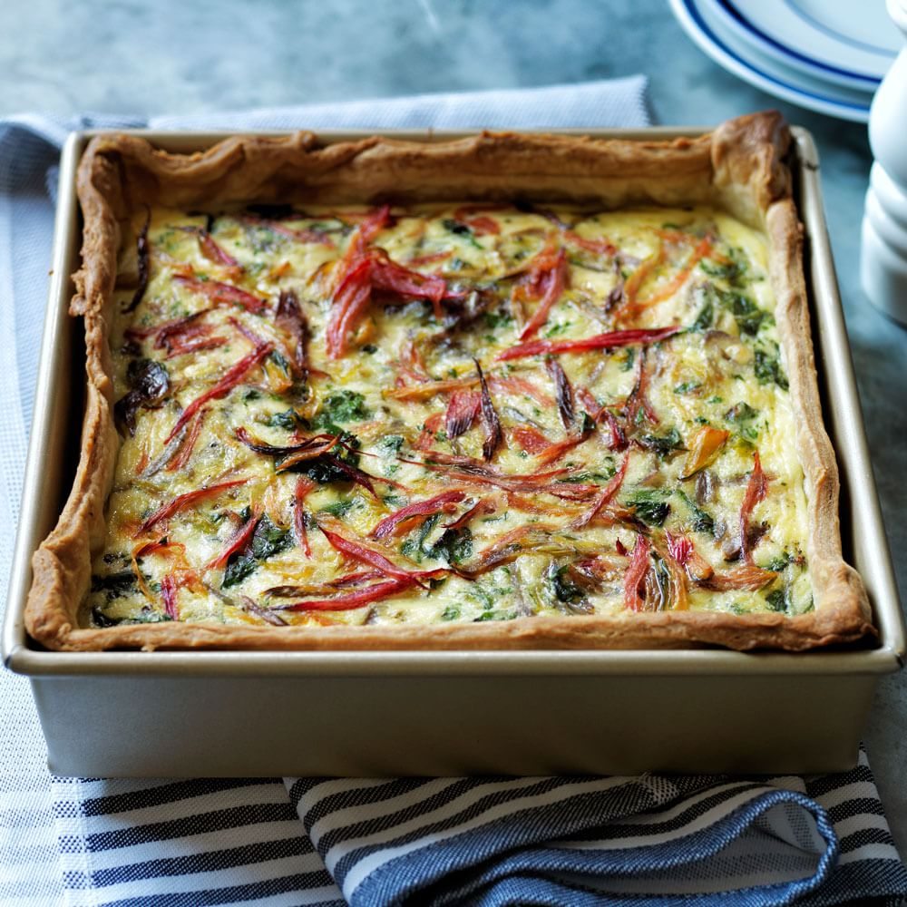 Swiss Chard and Gruyère Quiche | Williams-Sonoma