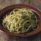 Trenette with Pistachio Pesto