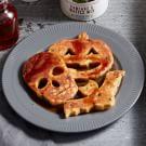 Halloween Pumpkin Chocolate Chip Pancakes