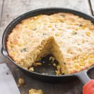 Cheese and Chile Skillet Cornbread