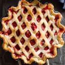 Strawberry-Rhubarb Lattice Pie