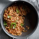Fresh Spaghetti with Arrabbiata Sauce