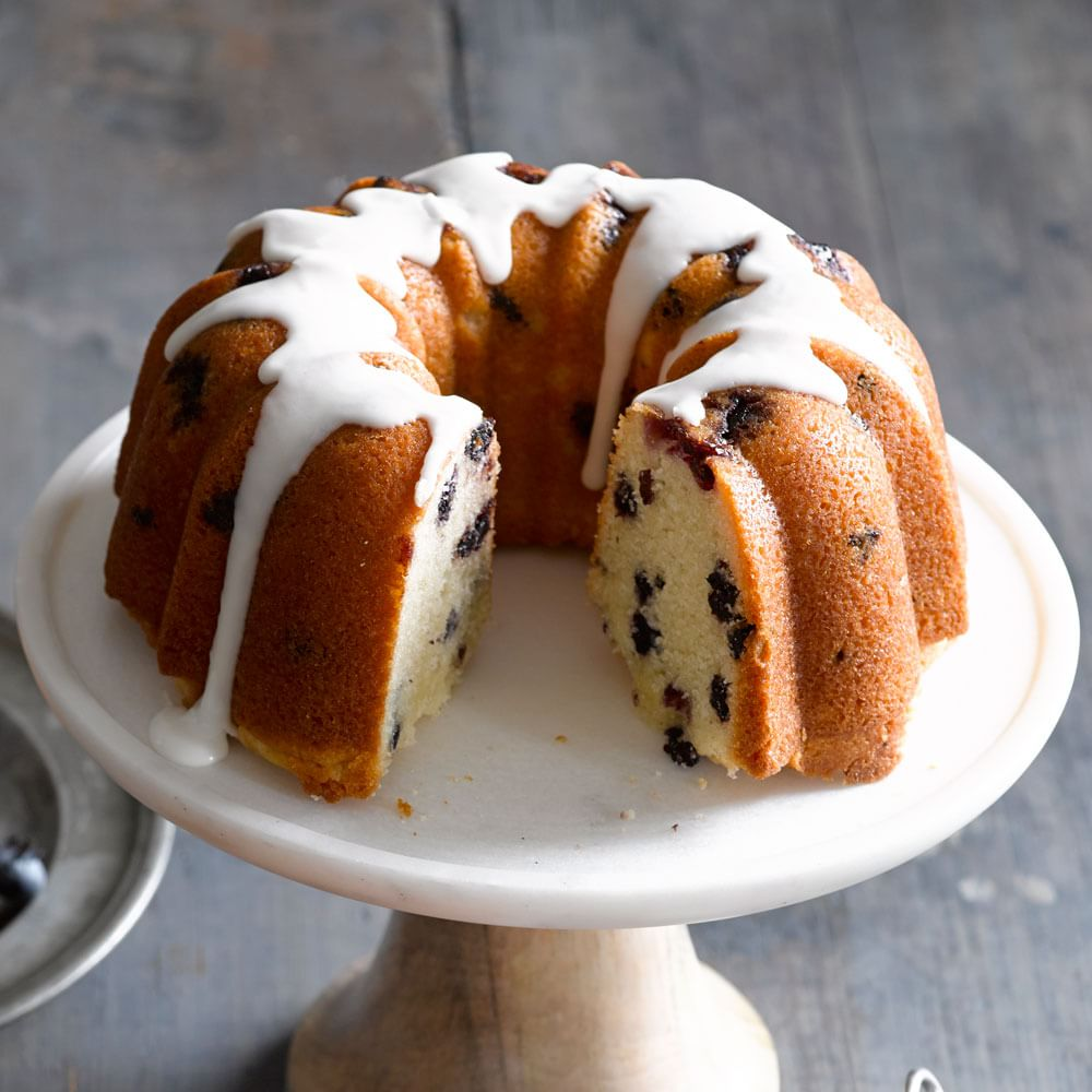 Mixed Berry Bundt Cake