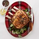Prime Rib with Red Wine Jus and Rosemary Butter