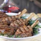 Veal Chops in Herbed Marinade