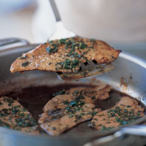 Veal Cutlets Gremolata