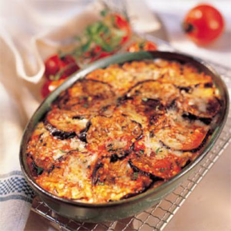 Garden-Style Eggplant Parmesan