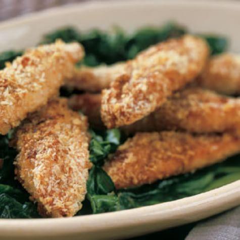 Oven-Crisped Chicken