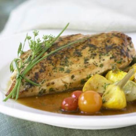 Herbed Chicken with Summer Vegetables