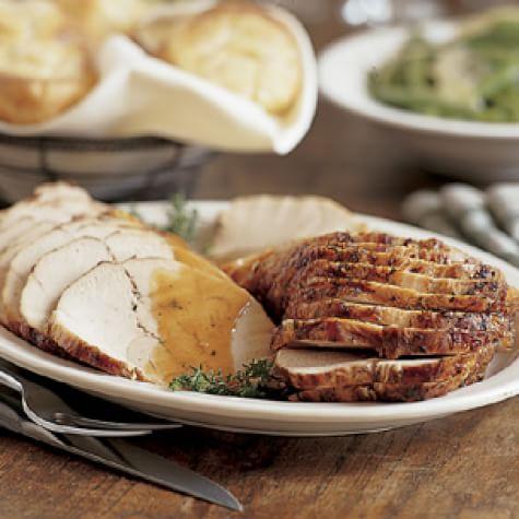 Roasted Turkey Breast with Madeira Sauce