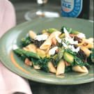 Penne with Morels and Spring Vegetables