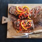 Steak Piperade