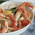 Cracked Crab with Horseradish Mayonnaise