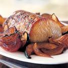 Roasted Pork with Hoisin Vegetables