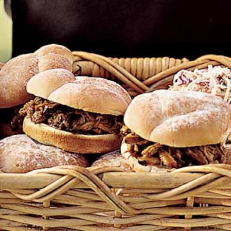 Not-So-Pulled-Pork Sandwiches