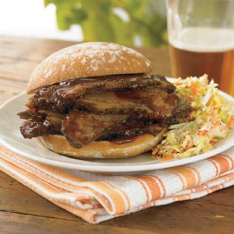 Beef Brisket Sandwiches